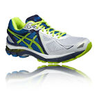 Asics GT-2000 3 Mens Blue Yellow Support Road Running Sports Shoes Trainers