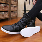 2015 Men's Winter Warm Flats Ankle Boots England-style fashionable Loafers Shoes