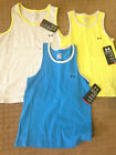 NWT Under Armour Boys Pocket Heat Gear Tank Top Shirt 1254490