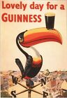 Vintage Guinness Toucan Advertisement Poster A3/A2/A1 Print