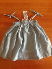 Baby BONDS gorgeous summer denim dress. BNWT  RRP $24.95 Size 00 FREE POST