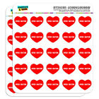 """1"""" Scrapbooking Crafting Stickers I Love Heart Sports Hobbies S-T"""