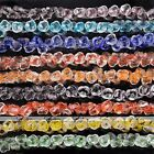 Strand 14mm Clear Crystal Glass Rose Flower Loose Bead Craft Jewelry Finding DIY