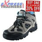 Premier Mercury Womens Scaffel Walking Hiking Trail Boots Grey Blue *AUTHENTIC*