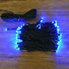 Kingfisher 80 LED Multi-action Blue Christmas Xmas Indoor / Outdoor Lights