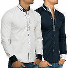 Carisma Herren Hemd Langarm Fit Shirt Casual Kosmo Japan Style Look Polo Used