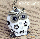 owl pendant chain Necklace Fashion Necklaces Pendants gift bag statement