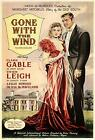 Vintage Gone With The Wind Movie Poster A3 Print