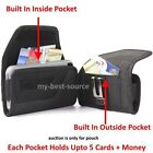 Strong Pouch Holster Clip FOR Large Cell Phone To Fit Otterbox Case+Money Pocket