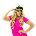 Adult Ship Navy Officer Yacht Sea Skipper Captain Hat Cap Costume Accessory Lot