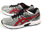 Asics Patriot 7 Silver/Fiery Red/Black Sportstyle Running Shoes 2015 T4D1N-9323