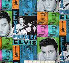 RARE ELVIS patch : 100%  cotton : VIP licensed fabric : by the 1/2 metre