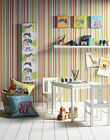 Earn Your Stripes & Jungle Animal Themed Decor Concept - Kids Bedroom Wallpaper
