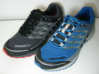 Merrell Mix Master Tuff Black or Blue Lightweight Lace Up Hiking Trainers
