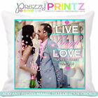 PERSONALISED ANY PHOTO CUSHION ANNIVERSARY CHRISTMAS FAMILY VALENTINES LOVE GIFT