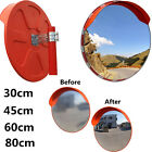 30/45/60/80cm Convex Safety Mirror Traffic Driveway Shop Safety & Security UK