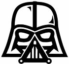 Star Wars Darth Vader Vinyl Decal Sticker car truck bumper window sticker Oracal $2.68 USD