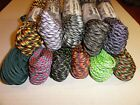550 Paracord Nylon 100-1000 ft Made in USA (7 Strands) Third Set