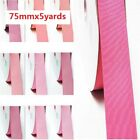 "by 5 Yards Grosgrain Ribbon 3"" /75mm. for Wedding all Pink s to Choose"