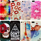 New Girls Loverly Cute Pattern Case Cover For Apple iPhone 4/4S 5/5S/5C