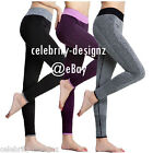 spp8 Celebrity Fashion Lookbook Texure-Paneled Leggings Active Wear Gym Pants