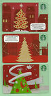 Starbucks Gift Card - Holiday Trees - Vintage 2011-2013 - Collector Perfect