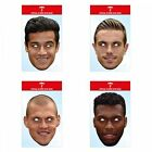 Official Liverpool Football Club Face Mask - Coutinho Henderson Skrtel Sturridge