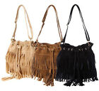 Fashion Women Hobo Tassel Crossbody Shoulder Bag Clutch Messenger Satchel