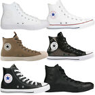 Converse Chuck Taylor All Star Leather Schuhe Turnschuhe High-Top Sneaker Leder