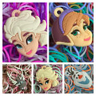 FROZEN LOOM BAND KIT. 200 BANDS/12 CLIPS/CHARM choose from drop down menu..