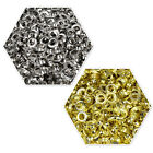 100 Eyelets Grommets Banners Vinyl in Silver or Gold in 9mm - 15mm Sracpbook