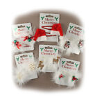 Girls Christmas Hair Clips Sleepies Grips Festive Stocking Filler Gift