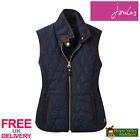 Joules Womens Braemar Quilted Gilet (U) **FREE UK Shipping**