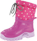 Misc Girls Mirak Flurry Childrens Warmlined Boot PVC Sole Nylon Upper Footwear