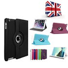 360 Degree Rotating PU Leather Smart Stand Case Cover For  iPad mini 4  UK