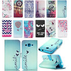 New Flower/Cartoon Patterned Flip PU Leather Wallet Case Cover For Mobile Phones