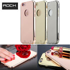 """ROCK Aluminum Ultra-thin Mirror Metal Case Cover For iPhone 6 6S 4.7"""" Plus 5.5"""""""
