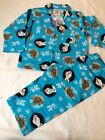 New Disney Frozen Olaf & Sven Blue Pyjamas 2-Piece Set