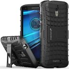 Dual Layer Rugged Sturdy Fit Case Cover for Motorola DROID Turbo 2 Moto X Force