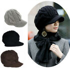 Women Girls Winter Fashion Warm Knitted Slouch Baggy Beanie Hat Free Shipping