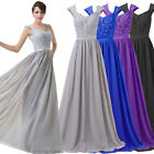 CHIFFON Elegant Long Prom Party Ball Evening Bridesmaid Cocktail Gown Maxi Dress