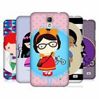 HEAD CASE DESIGNS PRINCESS HIPSTERS HARD BACK CASE FOR SAMSUNG PHONES 4