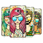 HEAD CASE DESIGNS SUMMER HIPPIES HARD BACK CASE FOR NOKIA PHONES 1