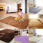 Non-slip ccFloor Soft Plush Shaggy Mat Bath Bathroom Plain Foam Rug Carpet