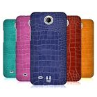 HEAD CASE DESIGNS CROCODILE SKIN PATTERN HARD BACK CASE FOR HTC PHONES 3