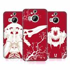 HEAD CASE DESIGNS CHERRY FOSSIL HARD BACK CASE FOR HTC PHONES 2