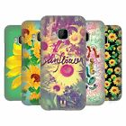 HEAD CASE DESIGNS SUNFLOWER HARD BACK CASE FOR HTC PHONES 1