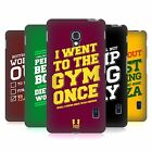 HEAD CASE DESIGNS FUNNY WORKOUT STATEMENTS HARD BACK CASE FOR LG PHONES 3