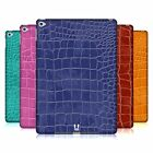 HEAD CASE DESIGNS CROCODILE SKIN PATTERN HARD BACK CASE FOR APPLE iPAD