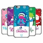 HEAD CASE DESIGNS CHRISTMAS TIDINGS HARD BACK CASE FOR APPLE iPHONE PHONES
